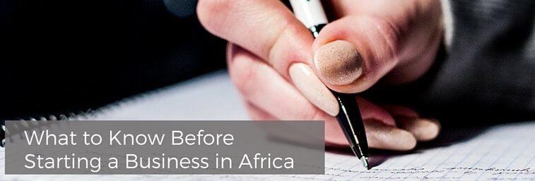 What to Know Before Starting a Business in Africa