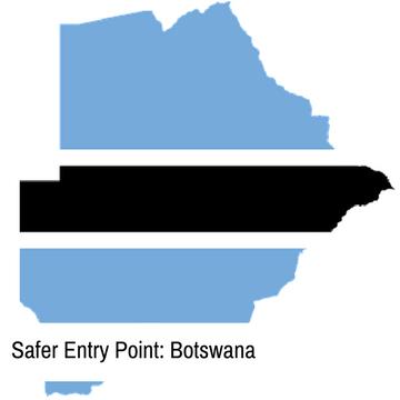 Safer Entry Point: Botswana