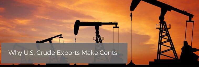 Why U.S. Crude Exports Make Cents